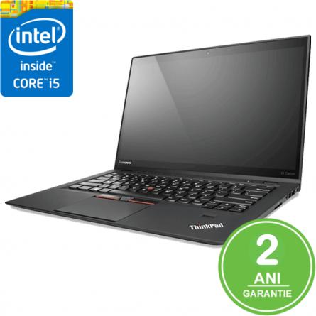 "Lenovo X1 CARBON G2 Refurbished I5-4200U /8GB DDR3L / 128GB M.2 / 14"" HD+ (1600x900) / Touch bar / Windows 10 Pro 1"
