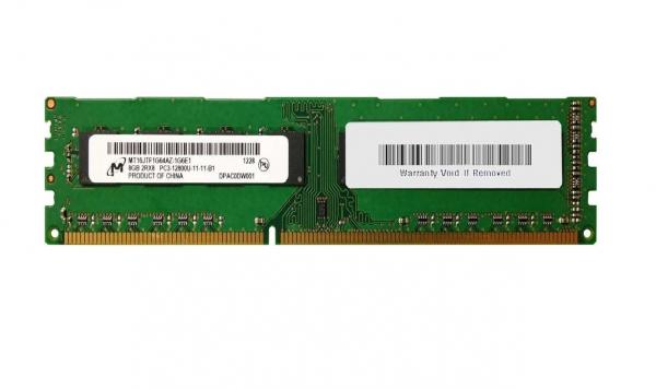 Memorie desktop Micron 8GB DDR3 2Rx8 PC3-12800U 1600MHz, Bulk 0