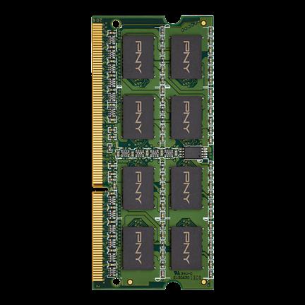 Memorie Ram laptop PNY 8GB DDR3L SO-DIMM 1600MHz PC3L-12800  1.35V 0