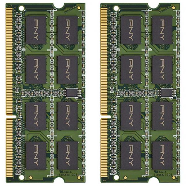 Memorie Ram laptop PNY Optima 8GB SO-DIMM DDR3 1600MHz PC12800 1