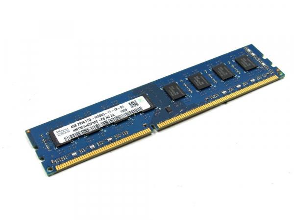 Memorie SK Hynix 4GB DIMM, DDR3, 1Rx8, PC3L-12800U, bulk 1