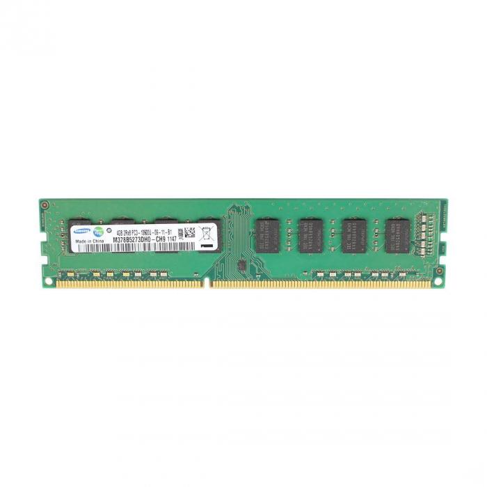 Memorie Samsung 4GB DIMM, DDR3, 1Rx8, PC3-12800U, bulk [2]