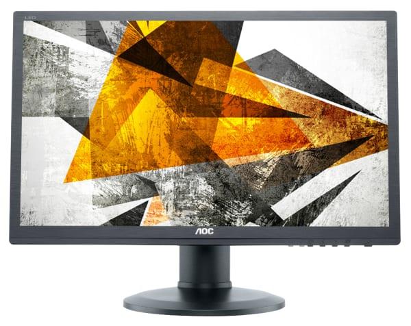 Monitoare REFURBISHED LCD AOC E2460P, 24 inch, Full HD 1