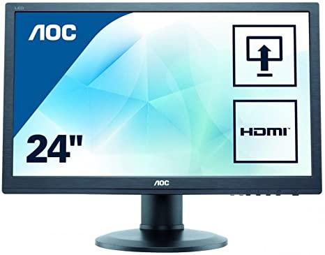 Monitoare REFURBISHED LCD AOC E2460P, 24 inch, Full HD 0