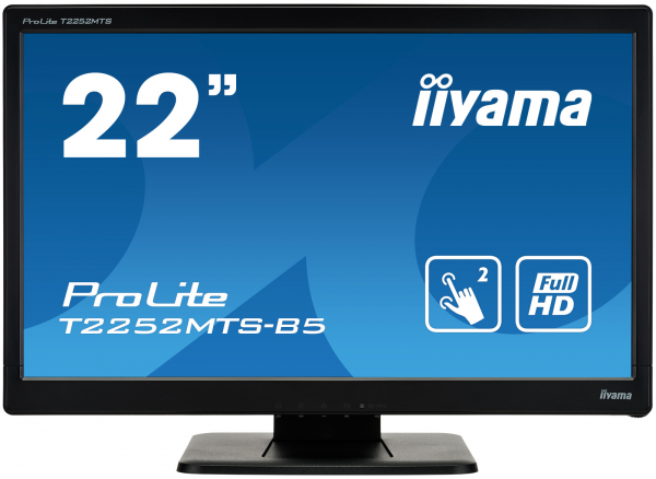 "Monitor iiyama ProLite T2252MTS-B5  21.5"", Optical Multi-Touch 0"
