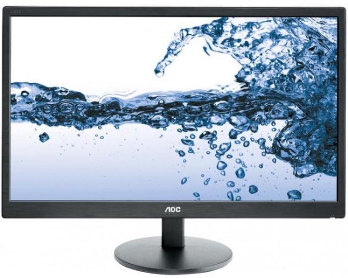 "Monitor LED TN AOC 21.5"", Wide, FHD, VGA, E2270SWN, Negru [0]"