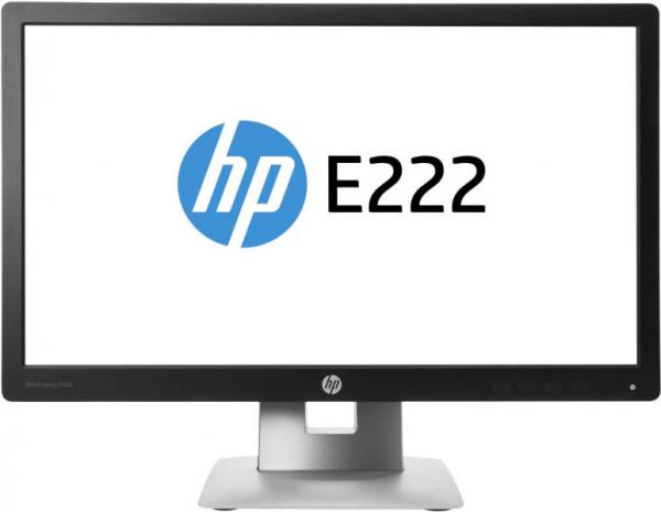 "Monitor Refurbished HP E222, 21.5"", 1920 x 1080, VGA, HDMI, Display Port 0"