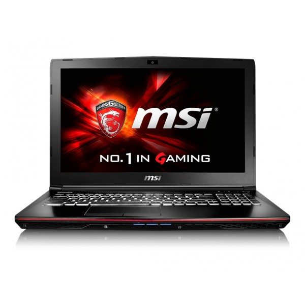 "Laptop Refurbished MSI GE62-6QCA8H11 39.6 cm (15.6"") Intel core i7-6700HQ 8 Gb DDR4 128 Gb SSD + 1Tb HDD GTX 960M 2Gb Windows 10 Home ( 82320 ) [2]"