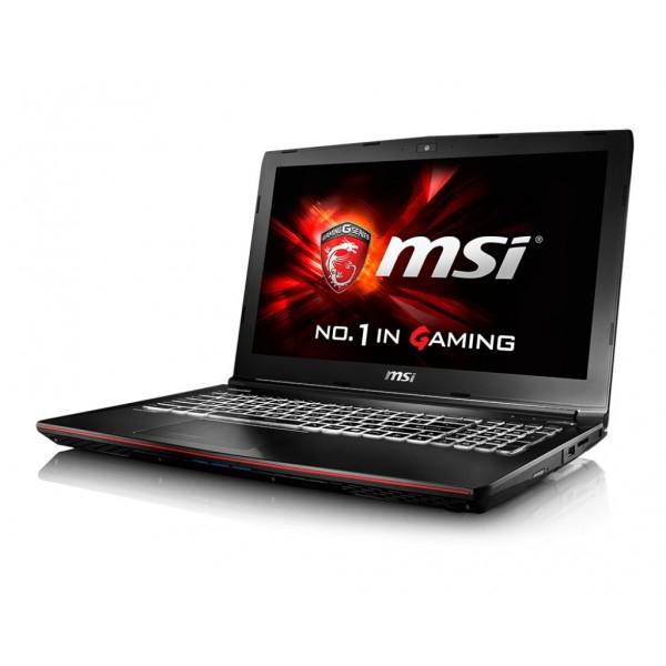 "Laptop Refurbished MSI GE62-6QCA8H11 39.6 cm (15.6"") Intel core i7-6700HQ 8 Gb DDR4 128 Gb SSD + 1Tb HDD GTX 960M 2Gb Windows 10 Home ( 82320 ) [0]"