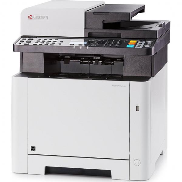 Multifunctional laser color Kyocera ECOSYS M5521cdn, duplex, retea, A4 3