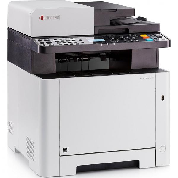 Multifunctional laser color Kyocera ECOSYS M5521cdn, duplex, retea, A4 2