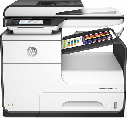 Multifunctional Inkjet HP Pagewide Pro 477dw, Wireless, A4 0