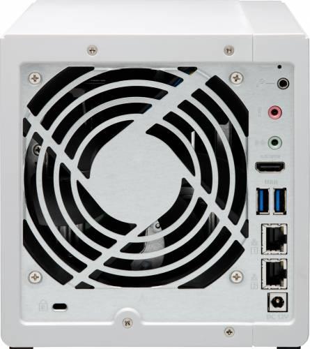 NAS Qnap TS-451A-2G, Intel Celeron N3060 Dual-Core, 2GB RAM, 4-Bay, 2 x Gigabit LAN, 3 x USB 3.0, 1 x HDMI 3