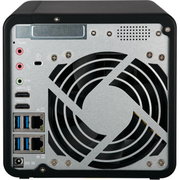 NAS Qnap TS-453B, Intel Celeron J3455 1.5GHz, 8GB DDR3L, 4 Bay, 5 x USB 3.0, 1 x USB Tip C, 2 x LAN, 2 x HDMI 1