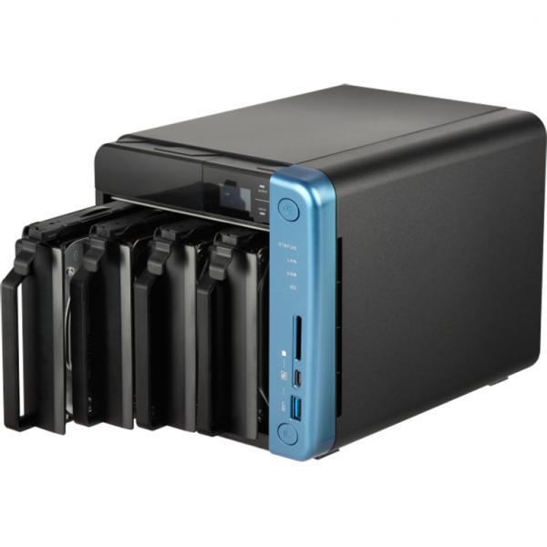 NAS Qnap TS-453B, Intel Celeron J3455 1.5GHz, 8GB DDR3L, 4 Bay, 5 x USB 3.0, 1 x USB Tip C, 2 x LAN, 2 x HDMI 2