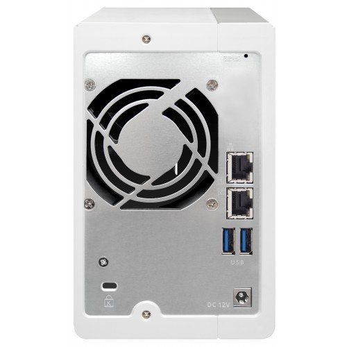 NAS QNAP 2-Bay TurboNAS, SATA 6G, 1,7GHz 4-Core, 4GB RAM, 2x GbE LAN, 3xUSB 3.0 3