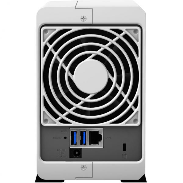 Network Attached Storage Synology DiskStation DS218j cu procesor Marvell Armada 385 88F6820 Dual Core 1.3 GHz, 512MB DDR3, 2-Bay, 1 x Gigabit LAN, 2 x USB 3.0 [3]