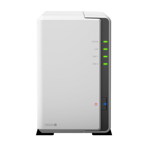 Network Attached Storage Synology DiskStation DS218j cu procesor Marvell Armada 385 88F6820 Dual Core 1.3 GHz, 512MB DDR3, 2-Bay, 1 x Gigabit LAN, 2 x USB 3.0 (134004 ) [0]