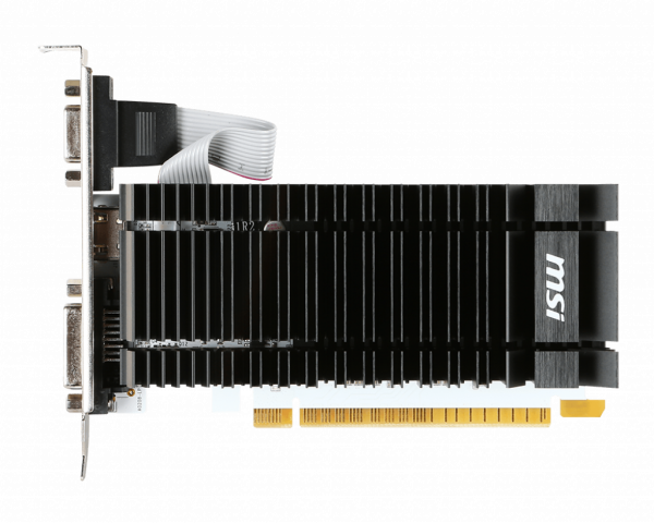 Placa video MSI GeForce® GT 730 K, 2GB DDR3, 64-bit 1