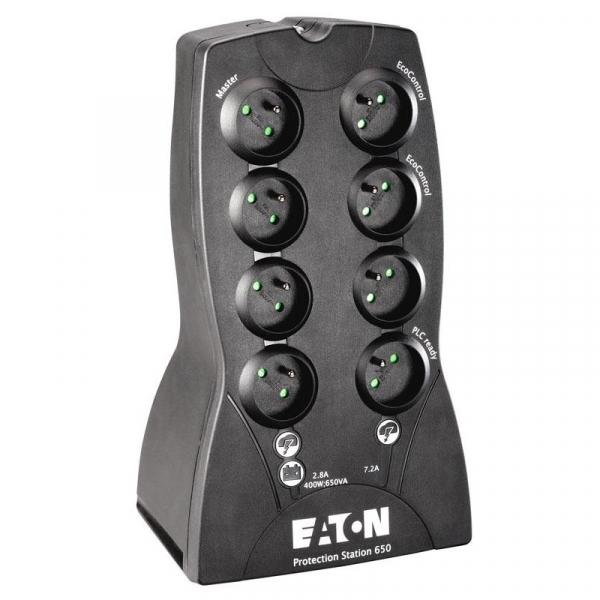 Protection Station UPS Eaton, 800VA, 230V, LED, FR - 61081, USB 0