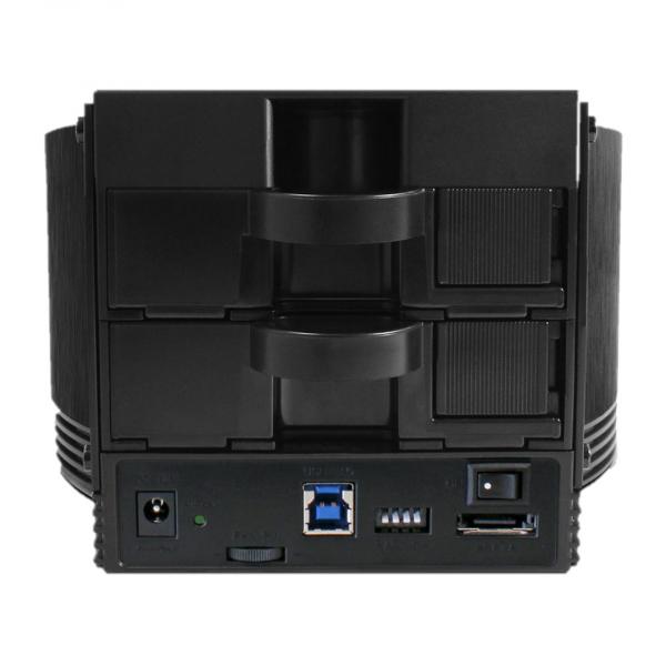 Rack / Enclosure Fantec SQ-X2RU3e 2 bay - RAID 0, 1, JBOD, BIG [1]