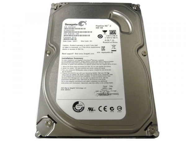 HDD SEAGATE 500GB 16MB Cache 3.5 INCH 4