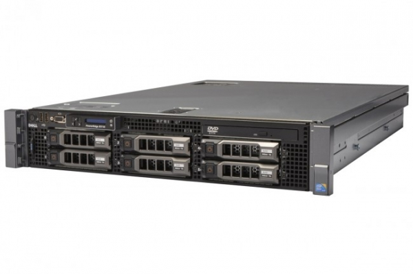 Server Refurbished DELL POWEREDGE R710 2X X5560 2.80GHZ 4 CORE 64GB RAM 2X 1000 SAS, H700 2 x Surse Redundante 750w 0