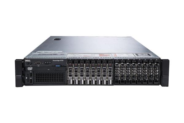 "Server Refurbished DELL PowerEdge R720, Rackabil 2U, 2 Procesoare Intel Six Core Xeon E5-2620 2.0 GHz, 64 GB DDR3 ECC Reg, 4 X 600GB SAS, 15 Bay-uri de 2.5"", Raid Controller SAS/SATA DELL PERC H710P M 0"