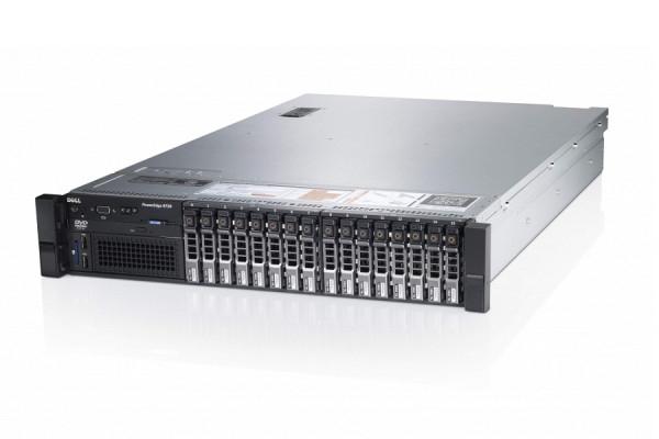"Server Refurbished DELL PowerEdge R720, Rackabil 2U, 2 Procesoare Intel Six Core Xeon E5-2620 2.0 GHz, 64 GB DDR3 ECC Reg, 4 X 900GB SAS, 15 Bay-uri de 2.5"", Raid Controller SAS/SATA DELL PERC H710P M 2"
