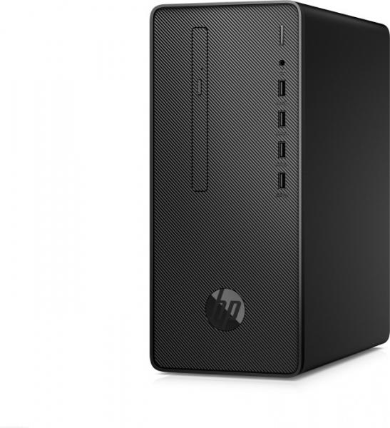 Sistem Desktop PC HP 290 G2 MT cu procesor Intel® Core™ i5-8500, Coffee Lake, 4.1GHz, 8GB DDR4, 256 SSD, DVD-RW, Intel® UHD Graphics 630, Windows 10 Profesional, Negru 1