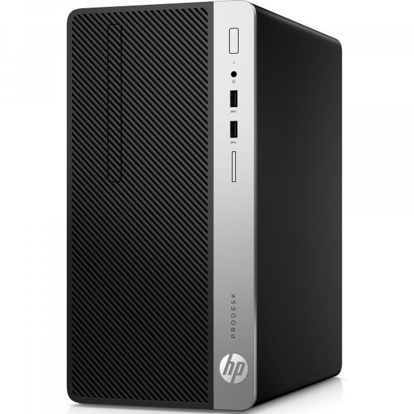 Sistem Desktop PC HP ProDesk 400 G4 MT,  Intel® Core™ i5-7500 3,4 GHz, 8 GB, 256 GB, DVD-RW, Windows 10 Pro 2