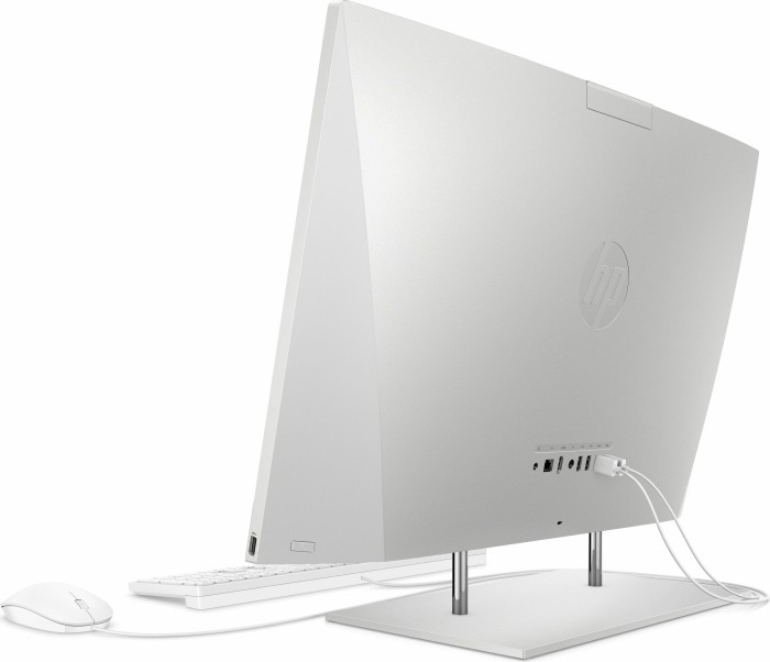 Sistem HP All-in-One 27-dp0025ng natural Silver 68,6 cm (27 inch) Intel® Core™ i7-10700T 8 GB 512 GB SSD Intel UHD Graphics 630 Windows® 10 Home 3