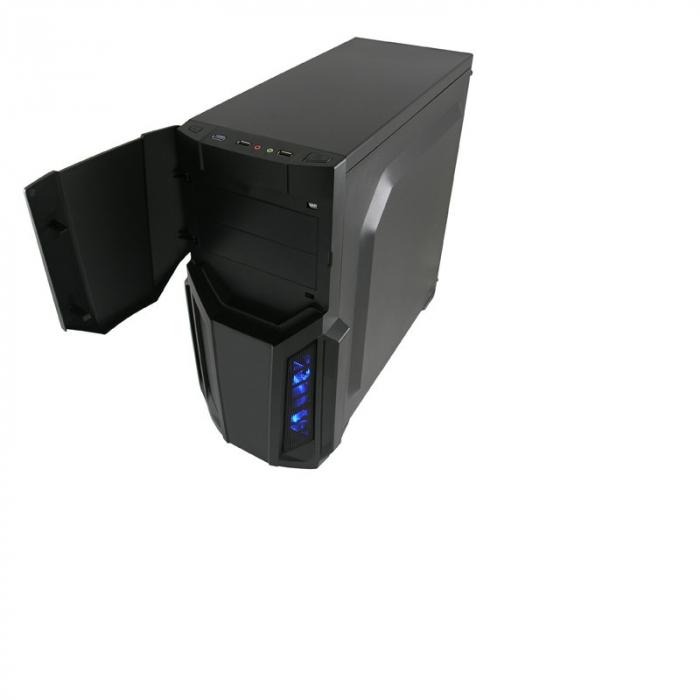 Sistem PC Gaming Intel Core i5-6500 , 8GB DDR4 , 240 GB SSD + 1 Tb HDD , AMD RX 580 8GB 3