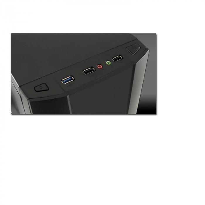Sistem PC Gaming Intel Core i5-6500 , 8GB DDR4 , 240 GB SSD + 1 Tb HDD , AMD RX 580 8GB 4