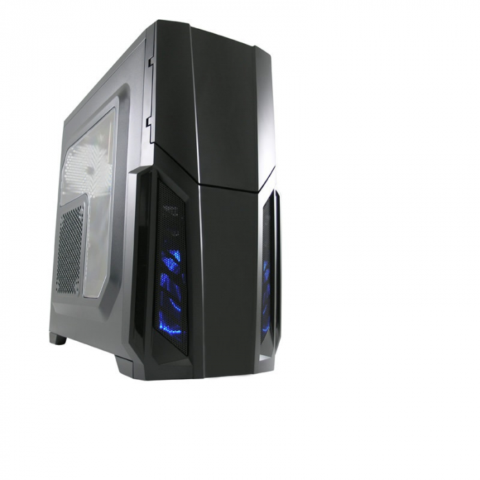 Sistem PC Gaming Intel Core i5-6500 , 8GB DDR4 , 240 GB SSD + 1 Tb HDD , AMD RX 580 8GB 1