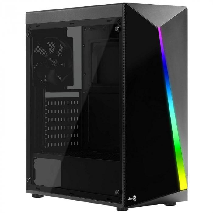 Sistem PC Gaming Aerocool Shard Intel Core i5-8500 , 16GB DDR4 , 240 GB SSD si 1 TB HDD , RTX 2060 SUPER VENTUS [2]