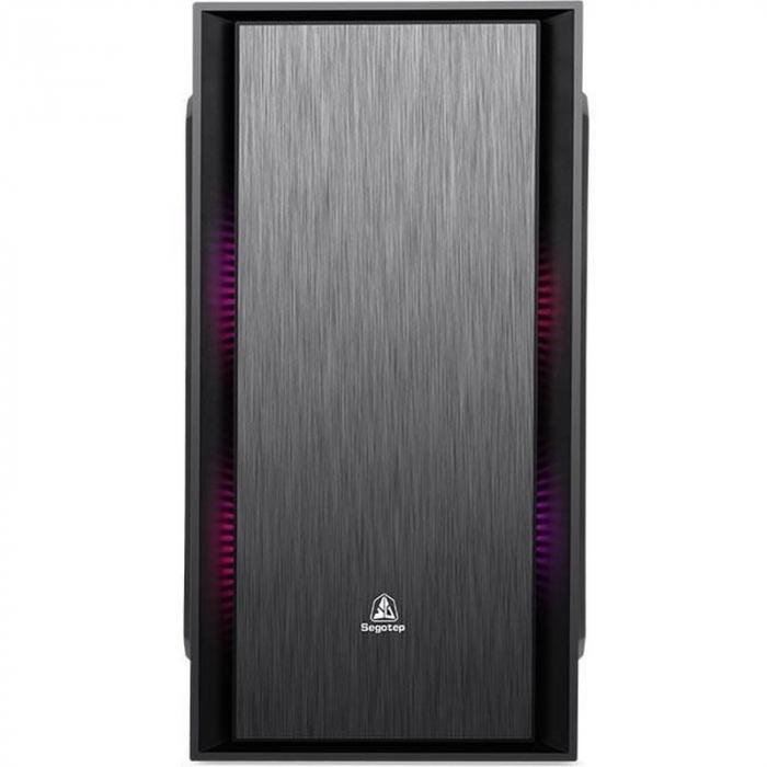 Sistem PC Tower Segotep  Intel Core I3 3.7 GHz , Memorie RAM 8GB, Capacitate stocare 240Gb SSD 1