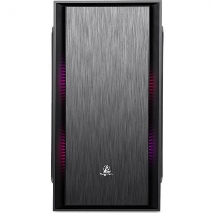 Sistem PC Tower Segotep  Intel Core I3 3.7 GHz , Memorie RAM 4GB, Capacitate stocare 240Gb SSD DVD-R 1