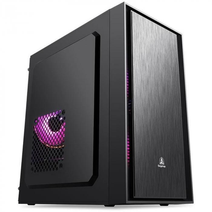 Sistem PC Tower Segotep  Intel Core I3 3.7 GHz , Memorie RAM 8GB, Capacitate stocare 240Gb SSD 0