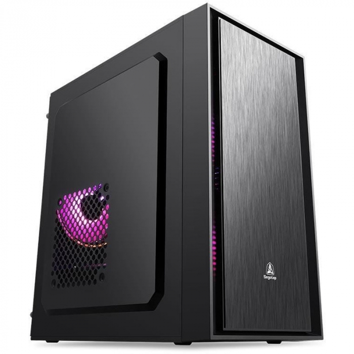 Sistem PC Tower Segotep  Intel Core I3 3.7 GHz , Memorie RAM 4GB, Capacitate stocare 240Gb SSD DVD-R 0
