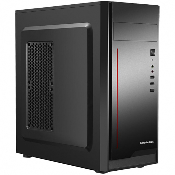 Sistem PC Tower Segotep, Procesor Intel Core I3 6100, Memorie RAM 8GB, Capacitate stocare 240SSD 3