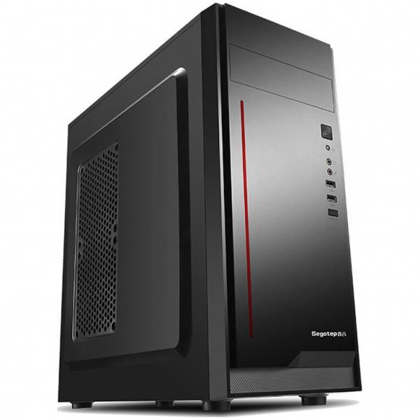 Sistem PC Tower Segotep, Procesor Intel Core I3 6100, Memorie RAM 4GB, Capacitate stocare 240SSD 2