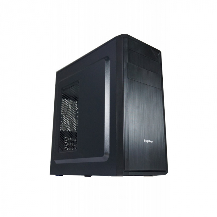 Sistem PC Tower Segotep  Intel Core I3 6100, Memorie 4GB,  stocare 128 GB SSD M.2, 500 GB HDD 2