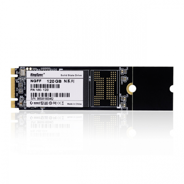 Solid State Drive (SSD) KingSpec, M.2 2280, 128GB, SATA III 1