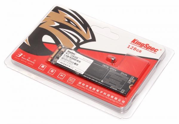Solid State Drive (SSD) KingSpec, M.2 2280, 128GB, SATA III 0