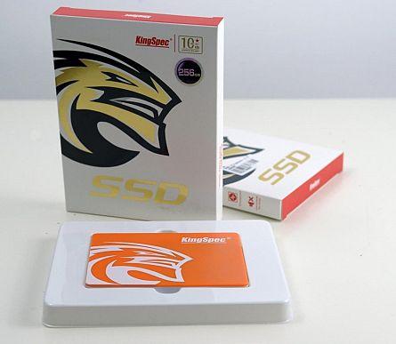 """Solid State Drive (SSD) KingSpec P3-256, 256 GB, 2.5"""", SATA III 1"""