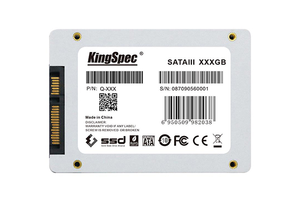 """Solid State Drive (SSD) KingSpec Q-360 , 360 GB , 2.5"""" , SATA III 2"""