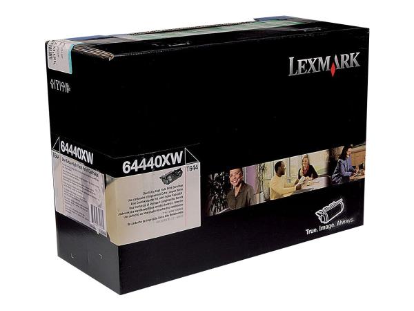 Toner Lexmark T644 , 64440XW , Black , 32000 pagini [1]