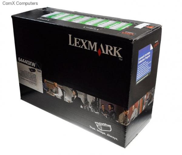 Toner Lexmark T644 , 64440XW , Black , 32000 pagini [0]