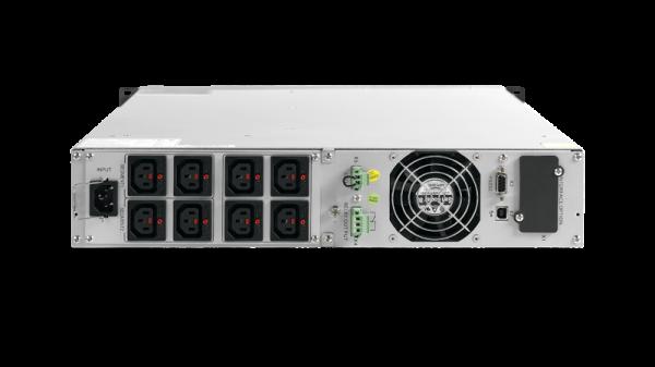 UPS AEG Protect D 3000 VA, 2700 W, Online Dubla conversie, Repornire automata, Management, USB, pentru Server, UK Power Cord 0